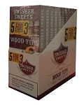 Swisher Sweets Wood Tip Cigarillos Pack 5FOR3
