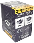 Swisher Sweets Cigarillos Foil Pack Grape Pre-Priced