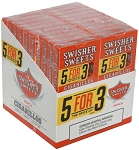 Swisher Sweets Cigarillos Peach 5 Pack (5FOR3)