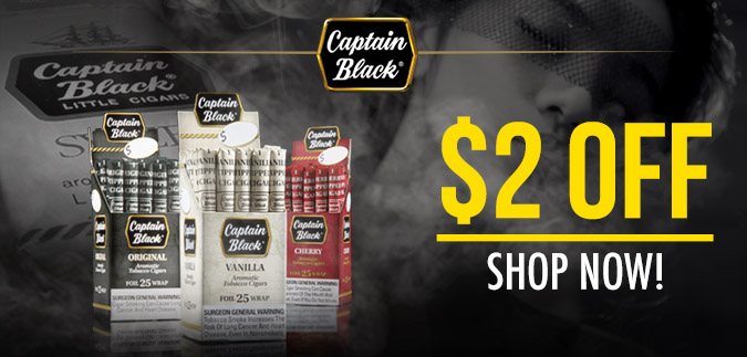 Captain Black Little Cigars for Sale now