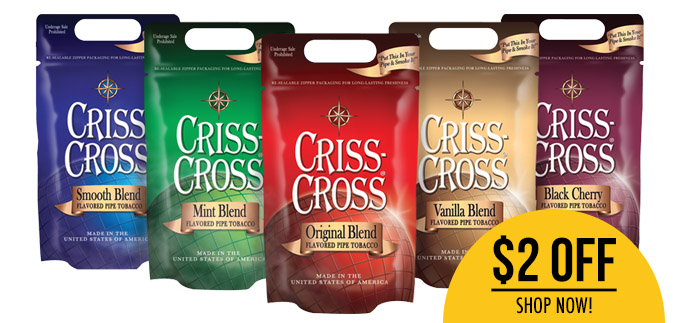Criss Cross Filtered Cigars are Here