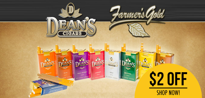 Deans Filtered Cigars are for Sale