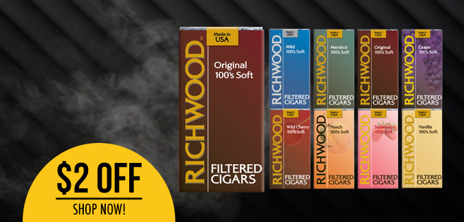 Richwood Filtered Cigars are Available Now