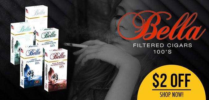 Bella Filtered Cigars a Woman Perfect Smoke