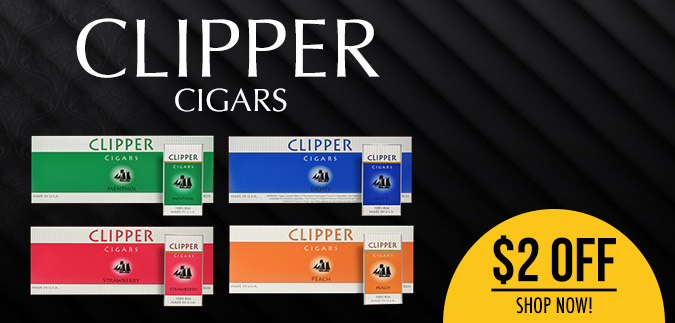 Clipper Filtered Cigars are now for Sale Here