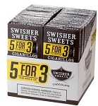 Swisher Sweets Cigarillos Chocolate 5 Pack (5FOR3)