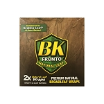 BK Fronto Natural Leaf Cigars Wraps 25 Ct