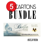 Bella Filtered Cigars Silver (Ultra Lights) - Bundle5