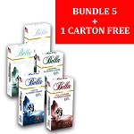 Bella Filtered Cigars BUNDLE 5 + 1 FREE