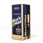 Black & Mild Casino Cigars Wood Tip 25 Ct Box