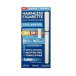 Harmless Cigarette Soft Tip - Cool Menthol  (quitting smoking alternative)