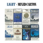 Mixed Brands Carton - Light Cigars