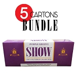 SHOW Filtered Cigars Purple Groove BUNDLE 5
