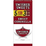 Swisher Sweets Coronella Cigars 5 Ct