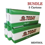 Today Filtered Cigars Menthol BUNDLE 5