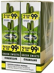 White Owl Cigarillos Foil Green Sweets Pre-Priced