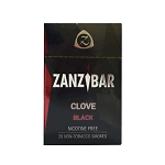 Zanzibar Herbal Clove Smokes - Black (Single Pack)