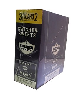 Swisher Sweets Mini Cigarillos Grape Pouch 3FOR2