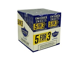 Swisher Sweets Cigarillos Blueberry 5 Pack (5FOR3)
