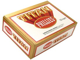 Phillies Titan Cigars Box