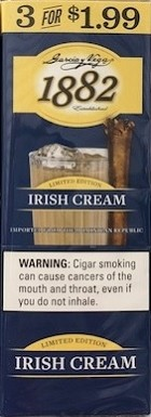 Garcia Y Vega 1882 Irish Cream Cigars 3x1.99