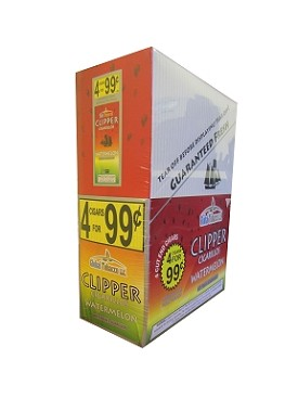 Clipper Cigarillos Watermelon 15/4 Pouch Pre-Priced