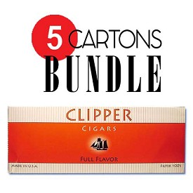Clipper Filtered Cigars Full Flavor Bundle 5