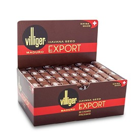 Villiger Export Maduro Cigars - 50 Ct Box