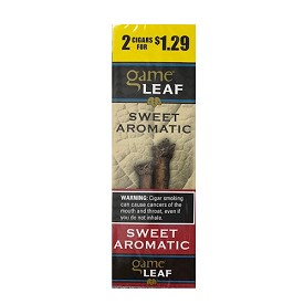 Game Leaf Cigars  Pre-Priced - Sweet Aromatic