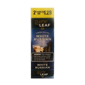 Game Leaf Cigars  Pre-Priced - White Russian