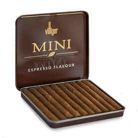 Villiger Mini Cigarillos Expresso NON Filtered (10 Tins of 10)