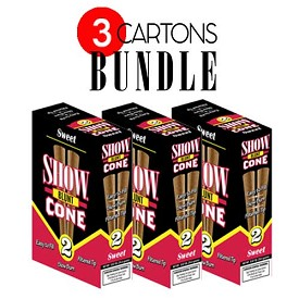 Show Blunt Cone Cigar Sweet BUNDLE 3