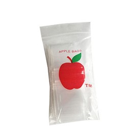Apple Ziplock Mini Bags 1015