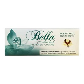 Bella Filtered Cigars Menthol