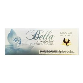 Bella Filtered Cigars Silver (Ultra Lights)
