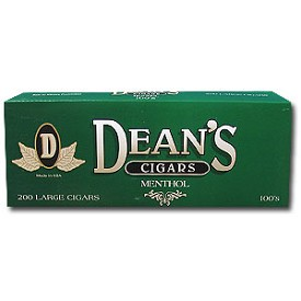 Deans Large Filtered Cigars Menthol