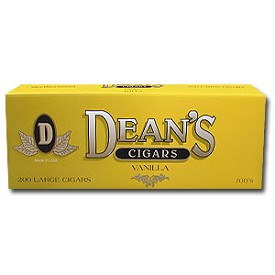 Deans Large Filtered Cigars Vanilla