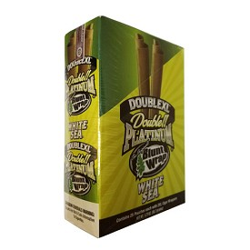 Double Platinum Blunt Wraps White Sea 2XL