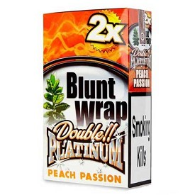 Double Platinum Blunt Wraps Peach