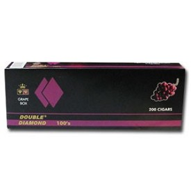 Double Diamond Filtered Cigars Grape