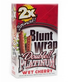 Double Platinum Blunt Wraps Wet Cherry