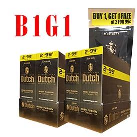 a43290339545 Dutch Masters Cigarillos Foil Irish Fusion Pre-Priced -B1G1 -  FloridaTobaccoShop.com