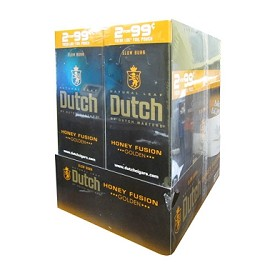 Dutch Masters Cigarillos Foil Honey Fusion Pre-Priced