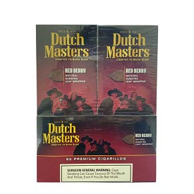 Dutch Masters Cigarillos Red Berry Foil 60 Ct