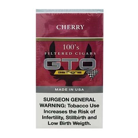 GTO Filtered Cigars Cherry