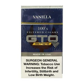 GTO Filtered Cigars Vanilla