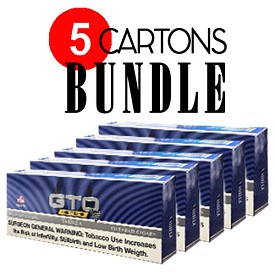 GTO Filtered Cigars Vanilla - BUNDLE 5