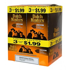 Dutch Masters Cigarillos Honeycomb Foil 60 Ct Pre-Priced