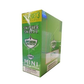 Swisher Sweets Mini Cigarillos Tropical Storm Pouch 3FOR2