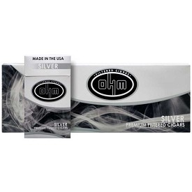 OHM Filtered Cigars Silver